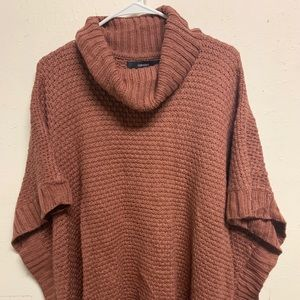 Forever 21 knitted Pancho one size